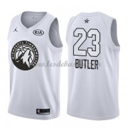Maillot NBA Pas Cher Minnesota Timberwolves Jimmy Butler 23# White 2018 All Star Game Swingman..